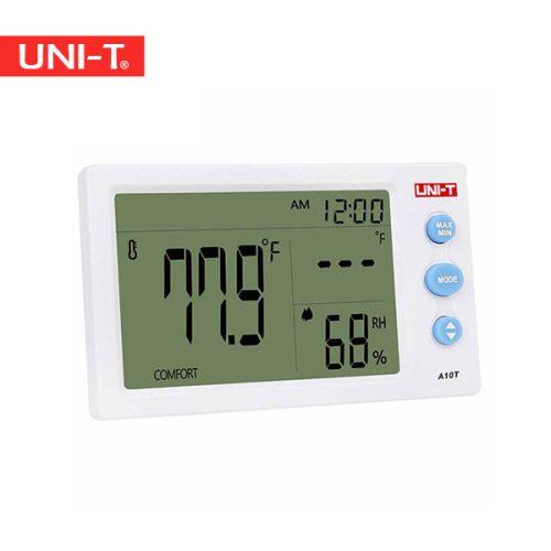 خرید دما رطوبت سنج محیطی ارزان قیمت یونیتی UNI-T A10T
