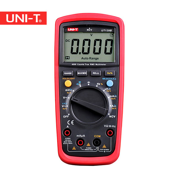 مولتی متر دیجیتال یونیتی مدل UT139B