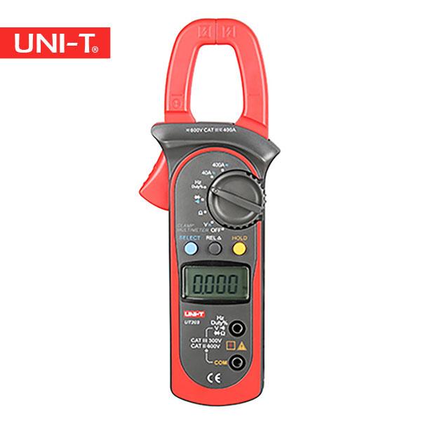 خرید کلمپ آمپرمتر و مولتی متر کلمپی و چنگکی ارزان قیمت چینی یونیتی Uni-T UT203 و UT 203