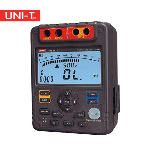خرید آنلاین میگر و تستر عایق 5 کیلو ولت دیجیتال ارزان قیمت یونیتی UNI-T UT513