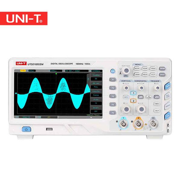اسیلوسکوپ ذخیره سازی دیجیتال یونیتی UTD2102CEM